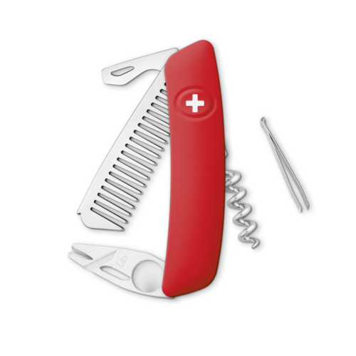 SWIZA Swiss Knife SWIZA CO03TT Red - KCO.0070.1000