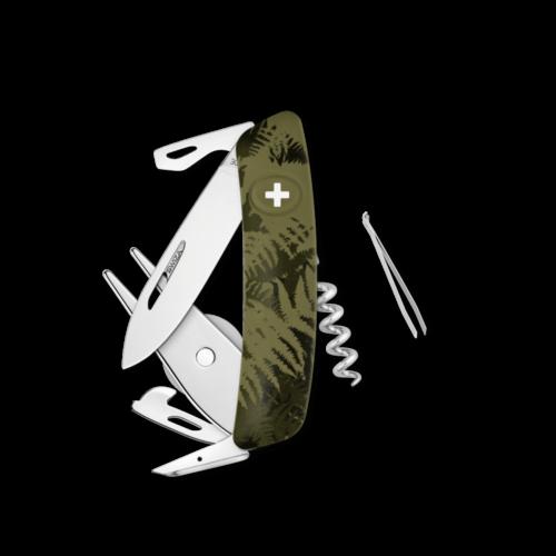 SWIZA Swiss Knife SWIZA GO05 Olive - KGO.0050.2050