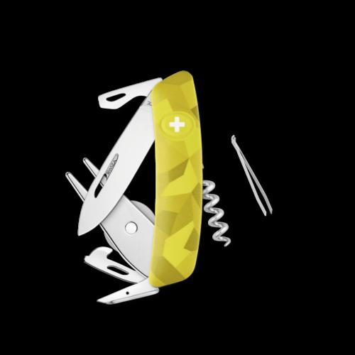 SWIZA Swiss Knife SWIZA GO05 Yellow - KGO.0050.2080