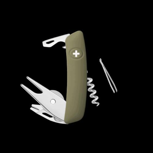 SWIZA Swiss Knife SWIZA GO03TT Olive - KGO.0070.1050