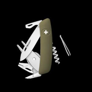 SWIZA Swiss Knife SWIZA GO05TT Olive - KGO.0090.1050