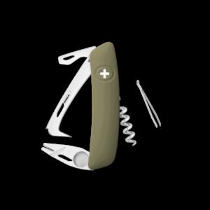 SWIZA Swiss Knife SWIZA HO03R-TT Olive - KHO.0070.1050