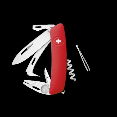 SWIZA Swiss Knife SWIZA HO05R-TT Red - KHO.0090.1000