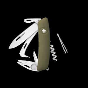 SWIZA Swiss Knife SWIZA HO05R-TT Olive - KHO.0090.1050