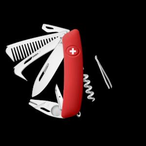 SWIZA Swiss Knife SWIZA HO09R-TT Red - KHO.0170.1000