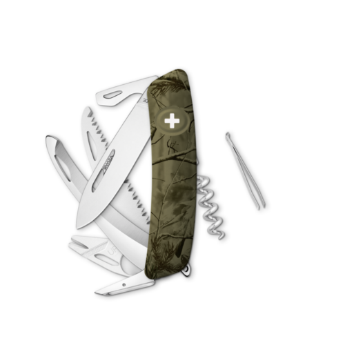 SWIZA Swiss Knife SWIZA HU09R-TT Olive - KHU.0210.2150