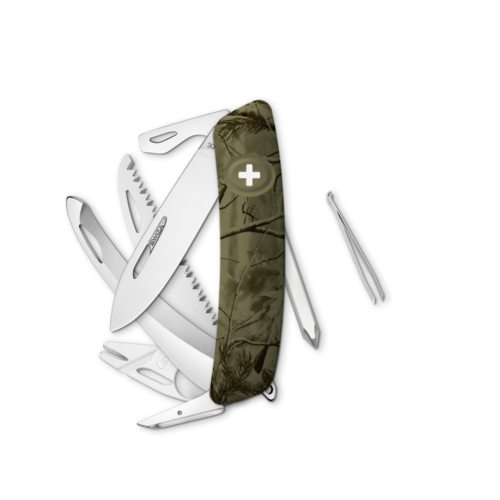 SWIZA Swiss Knife SWIZA HU10R-TT Olive - KHU.0220.2150