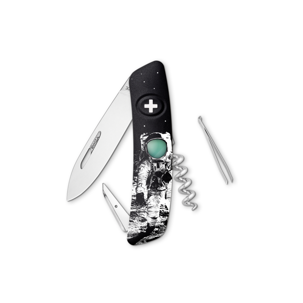 SWIZA Swiss Knife SWIZA D01 MOONWALK Black - KNB.0010.MW50