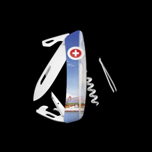 SWIZA Swiss Knife SWIZA D03 GENEVA White - KNB.0030.GE19