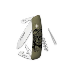 SWIZA Swiss Knife  Olive - KNB.0030.H013