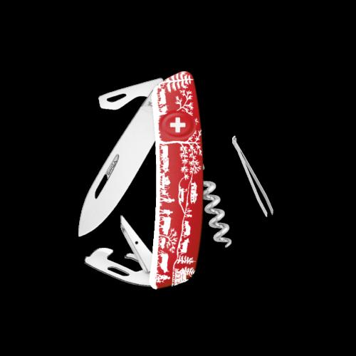 SWIZA Swiss Knife SWIZA D03 HEIMAT Red - KNB.0030.HEI1