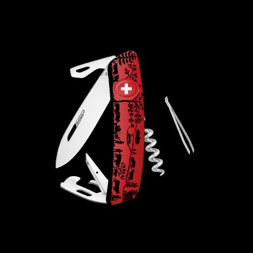 SWIZA Swiss Knife SWIZA D03 HEIMAT Red - KNB.0030.HEI2