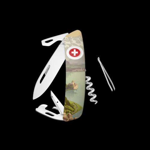 SWIZA Swiss Knife SWIZA D03 MONTREUX White - KNB.0030.MO19