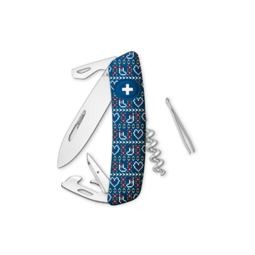 SWIZA Swiss Knife SWIZA D03 XM Knitting Blue - KNB.0030.X006
