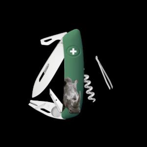 SWIZA Swiss Knife SWIZA TT03 Green - KNB.0070.W007