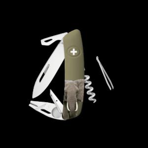 SWIZA Swiss Knife SWIZA TT03 Olive - KNB.0070.W008
