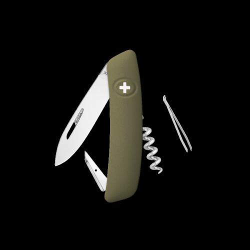 SWIZA Swiss Knife SWIZA D01 Olive - KNI.0010.1050