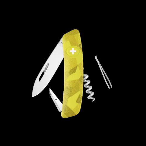 SWIZA Swiss Knife SWIZA D01 Yellow - KNI.0010.2080