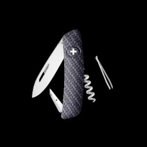 SWIZA Swiss Knife SWIZA D01 Carbon - KNI.0010.4000