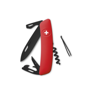 SWIZA Swiss Knife SWIZA D03 AB Red - KNI.0033.1000