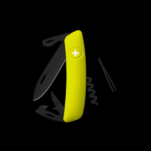 SWIZA Swiss Knife SWIZA D03 AB Yellow - KNI.0033.1080