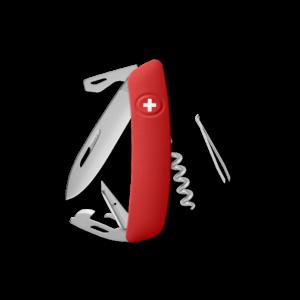 SWIZA Swiss Knife SWIZA D03 AM Red - KNI.0036.1000