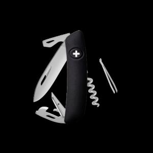 SWIZA Swiss Knife SWIZA D03 AM Black - KNI.0036.1010