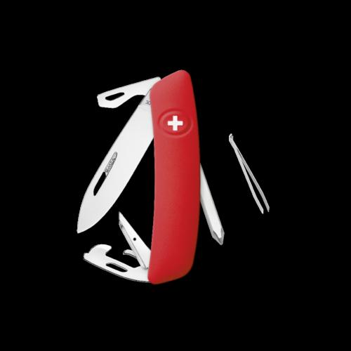 SWIZA Swiss Knife SWIZA D04 Red - KNI.0040.1000