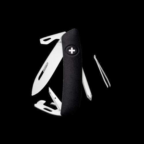 SWIZA Swiss Knife SWIZA D04 Black - KNI.0040.1010