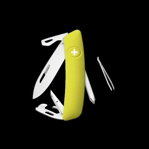 SWIZA Swiss Knife SWIZA D04 Yellow - KNI.0040.1080