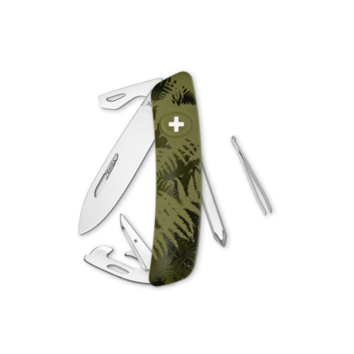 SWIZA Swiss Knife SWIZA D04 Olive - KNI.0040.2050