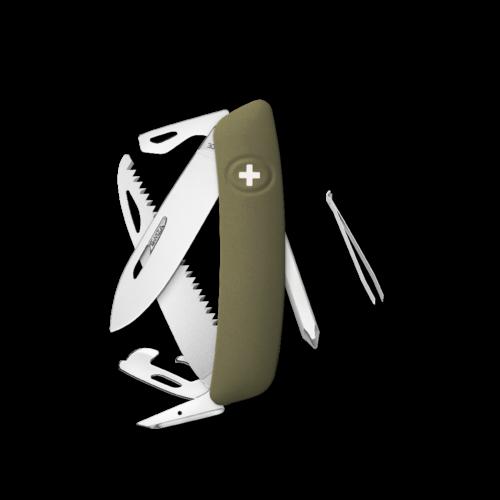 SWIZA Swiss Knife SWIZA D06 Olive - KNI.0060.1050