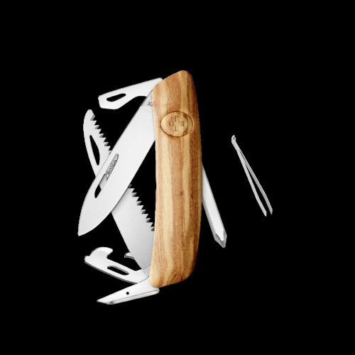 SWIZA Swiss Knife SWIZA D06 Olive tree - KNI.0060.6310