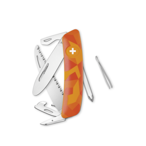SWIZA Swiss Knife SWIZA J06 Orange - KNI.0061.2070