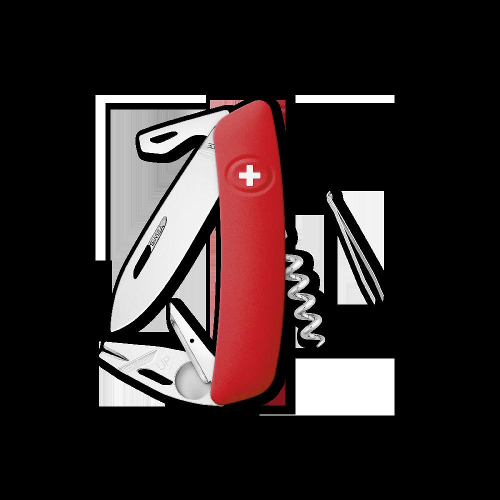 SWIZA Swiss Knife SWIZA TT03 Red - KNI.0070.1000