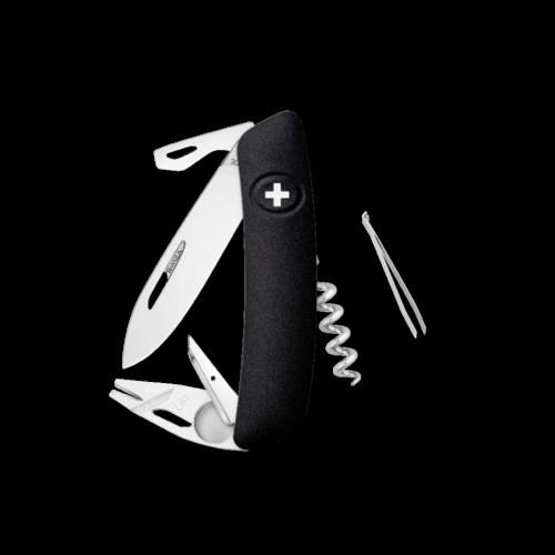 SWIZA Swiss Knife SWIZA TT03 Black - KNI.0070.1010