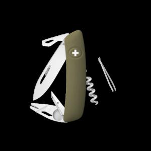 SWIZA Swiss Knife SWIZA TT03 Olive - KNI.0070.1050