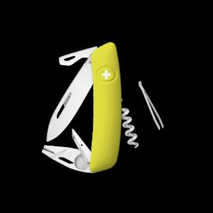 SWIZA Swiss Knife SWIZA TT03 Yellow - KNI.0070.1080