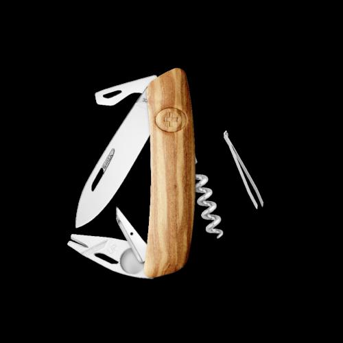 SWIZA Swiss Knife SWIZA TT03 Olive tree - KNI.0070.6310
