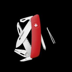 SWIZA Swiss Knife SWIZA TT06 Red - KNI.0100.1000