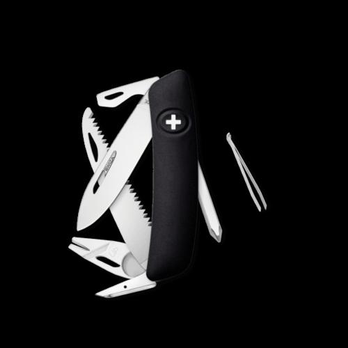 SWIZA Swiss Knife SWIZA TT06 Black - KNI.0100.1010