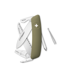 SWIZA Swiss Knife SWIZA TT06 Olive - KNI.0100.1050