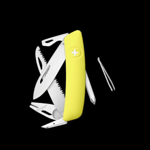 SWIZA Swiss Knife SWIZA TT06 Yellow - KNI.0100.1080