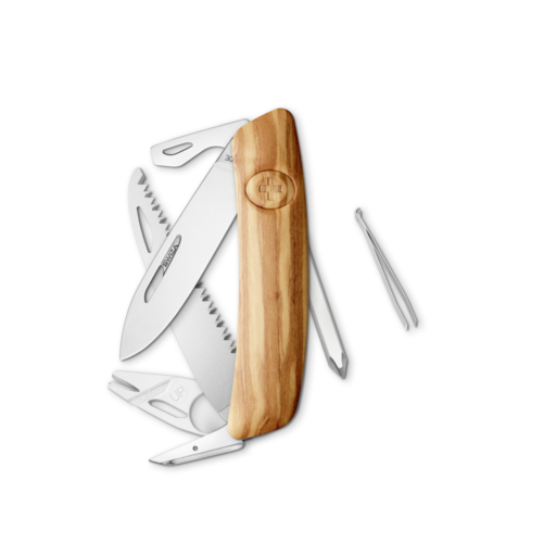 SWIZA Swiss Knife SWIZA TT06 Olive tree - KNI.0100.6310