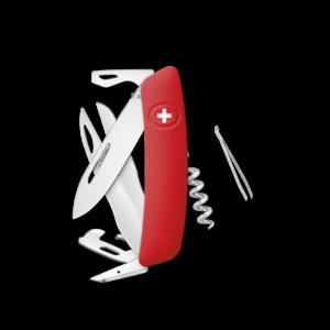 SWIZA Swiss Knife SWIZA D07 Red - KNI.0110.1000