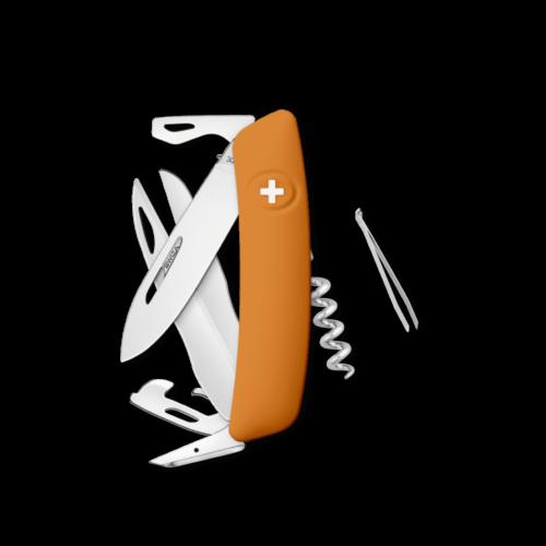 SWIZA Swiss Knife SWIZA D07 Orange - KNI.0110.1060