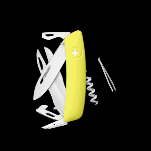 SWIZA Swiss Knife SWIZA D07 Yellow - KNI.0110.1080
