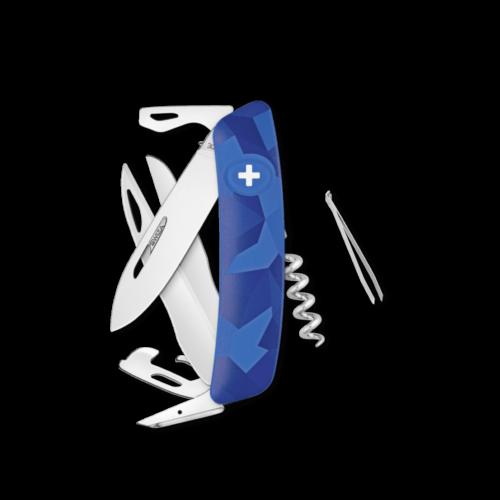 SWIZA Swiss Knife SWIZA D07 Blue - KNI.0110.2030