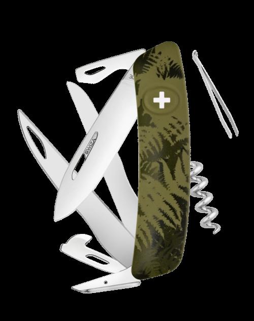 SWIZA Swiss Knife SWIZA C07 Olive - KNI.0110.2050