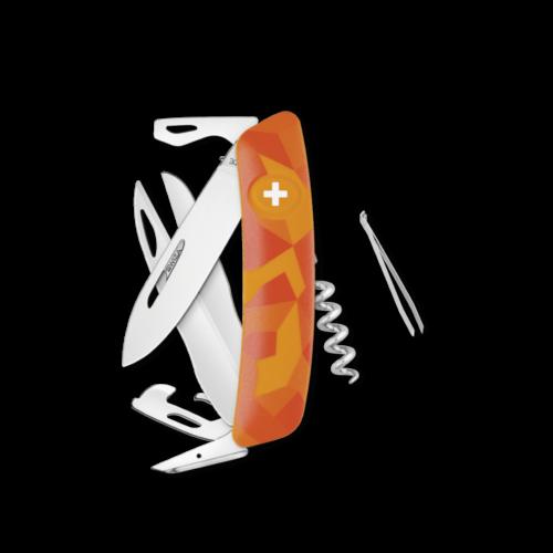 SWIZA Swiss Knife SWIZA D07 Orange - KNI.0110.2070